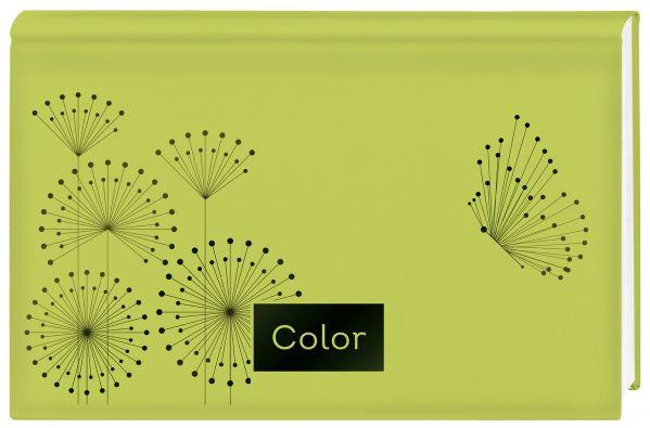 Планер недатированный (зеленый). 95х170, твердая обложка, фольга, 96 стр. фото