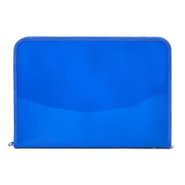 Папка д/труда А4 Creativiki 630х320х340 пластик синий