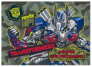 Альб д.рис 40л скр А5 TR162-EAC полн УФ лак Transformers 5