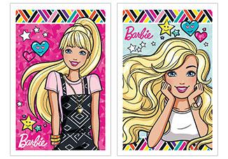 Бл 40л Wсп 75*110 B984/2-EAC полн УФ лак Barbie