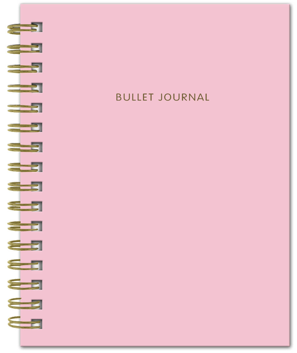 Bullet Journal (Розовый) 162x210мм, твердая обложка, пружина, блокнот в точку, 120 стр. bullet journal бирюзовый 162x210мм твердая обложка пружина блокнот в точку 120 стр