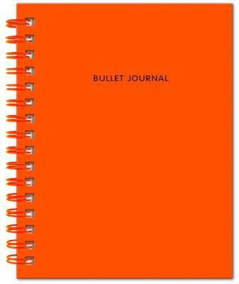 Книга для записей Bullet Journal, 60 листов, оранжевая
