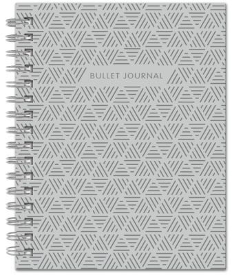 Книга для записей Bullet Journal, 60 листов, стальная