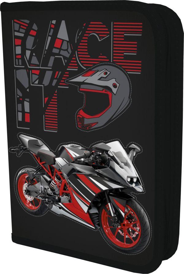 SKGB-UT7-031 Пенал. Размер: 21 х 14 х 4 см. Seventeen Мотоцикл
