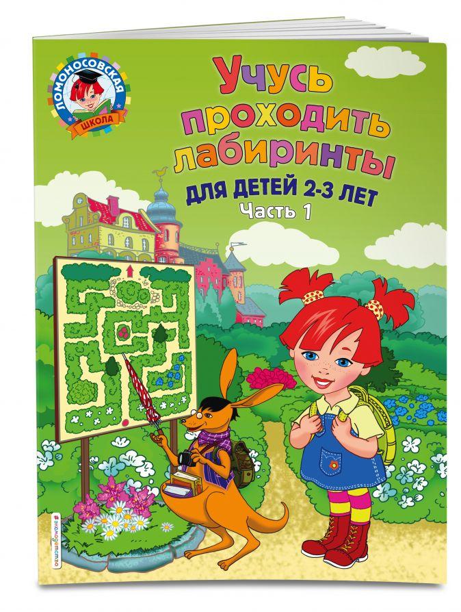 Ю. А. Сафина, Е. А. Родионова - Учусь проходить лабиринты: для детей 2-3 лет. Ч 1 обложка книги