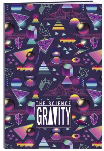 Тетрадь, Gravity А5, в мягкой обложке, 48 л.