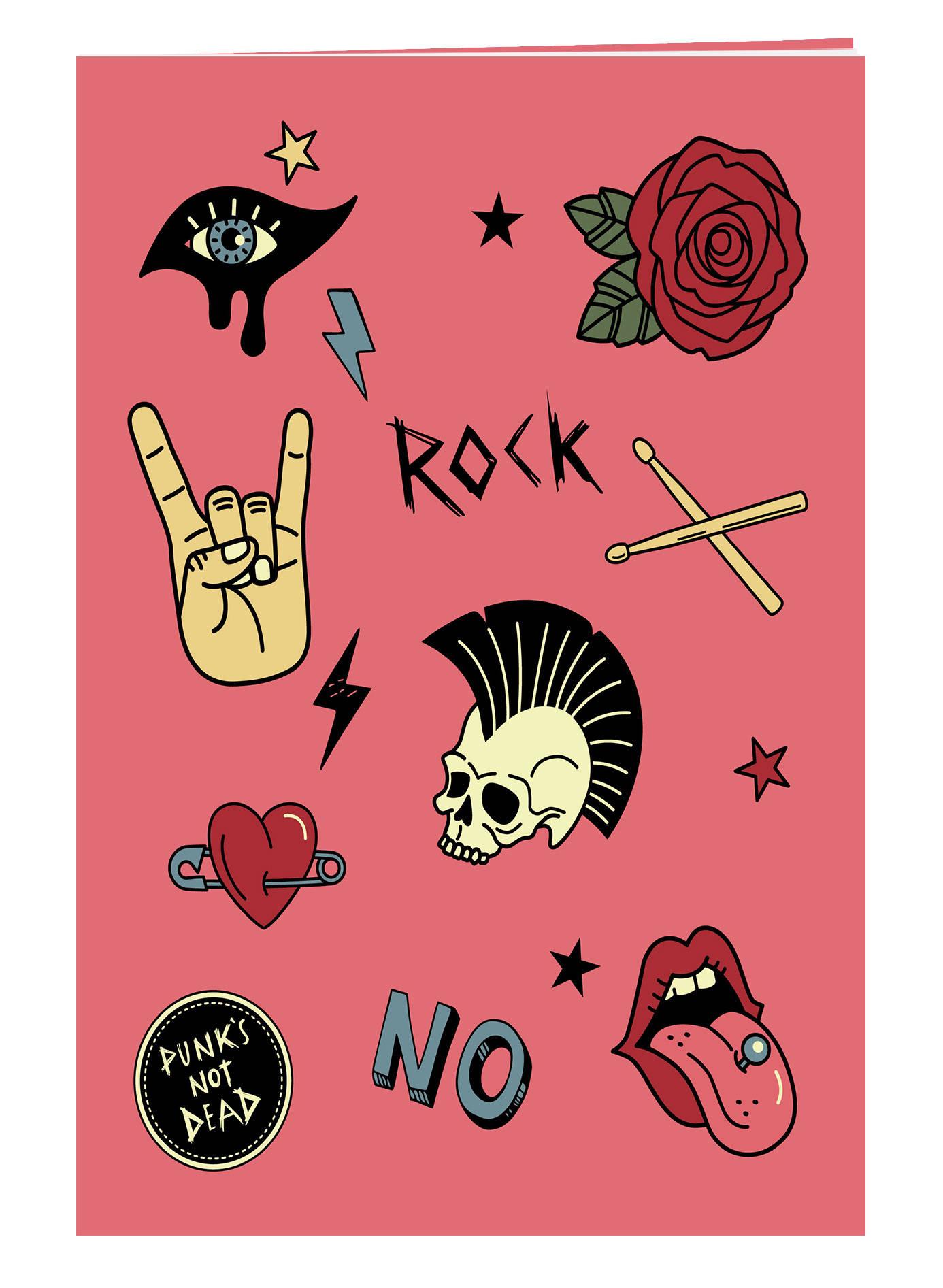 Punk's not dead. Тетрадь общая (А5, 48 л., накидка)