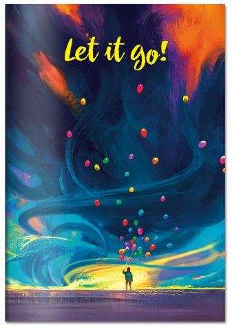 Let it go. Тетрадь общая (А5, 48 л., УФ-лак, накидка 4 п. полноцвет)