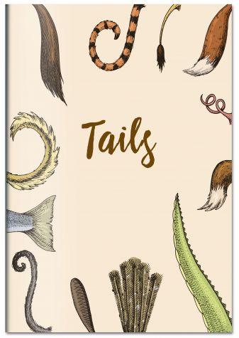 Tails. Тетрадь общая (А5, 48 л., УФ-лак, накидка 4 п. полноцвет)