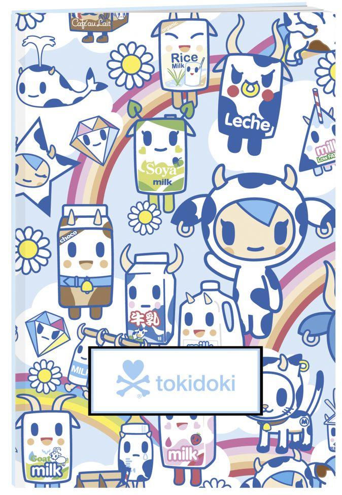 tokidoki. Молочко. Тетрадь (А5, 48 л., УФ-лак, накидки)