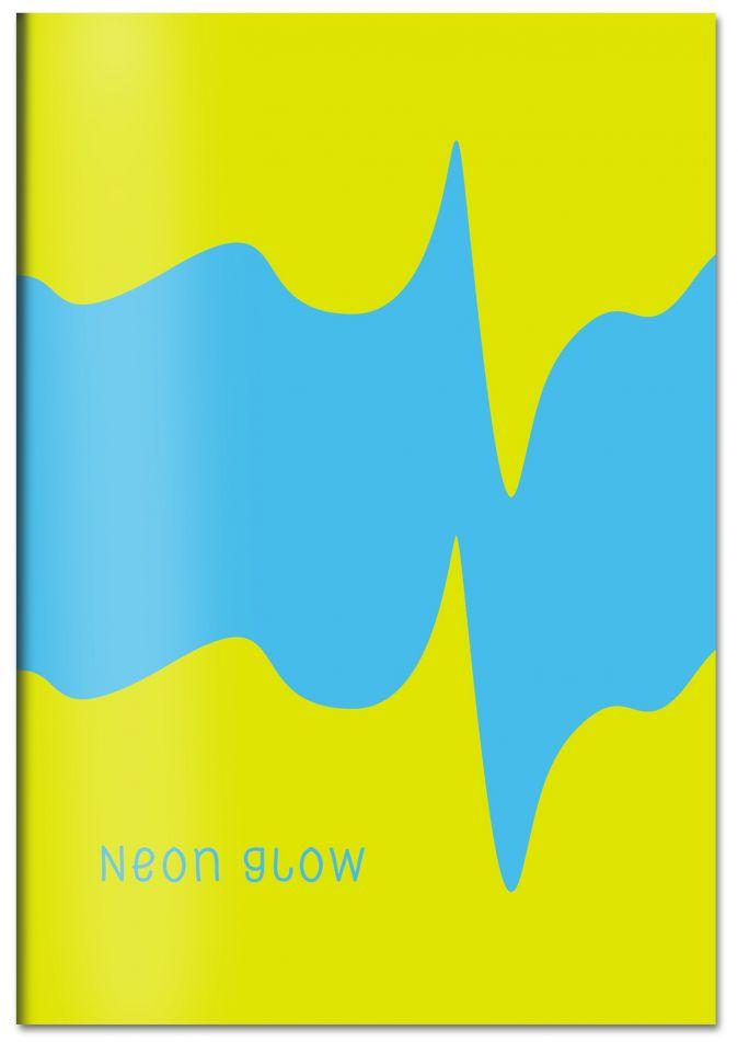 Neon glow. Тетрадь студенческая (В5, неоновый пантон, УФ-лак, 40 л.)