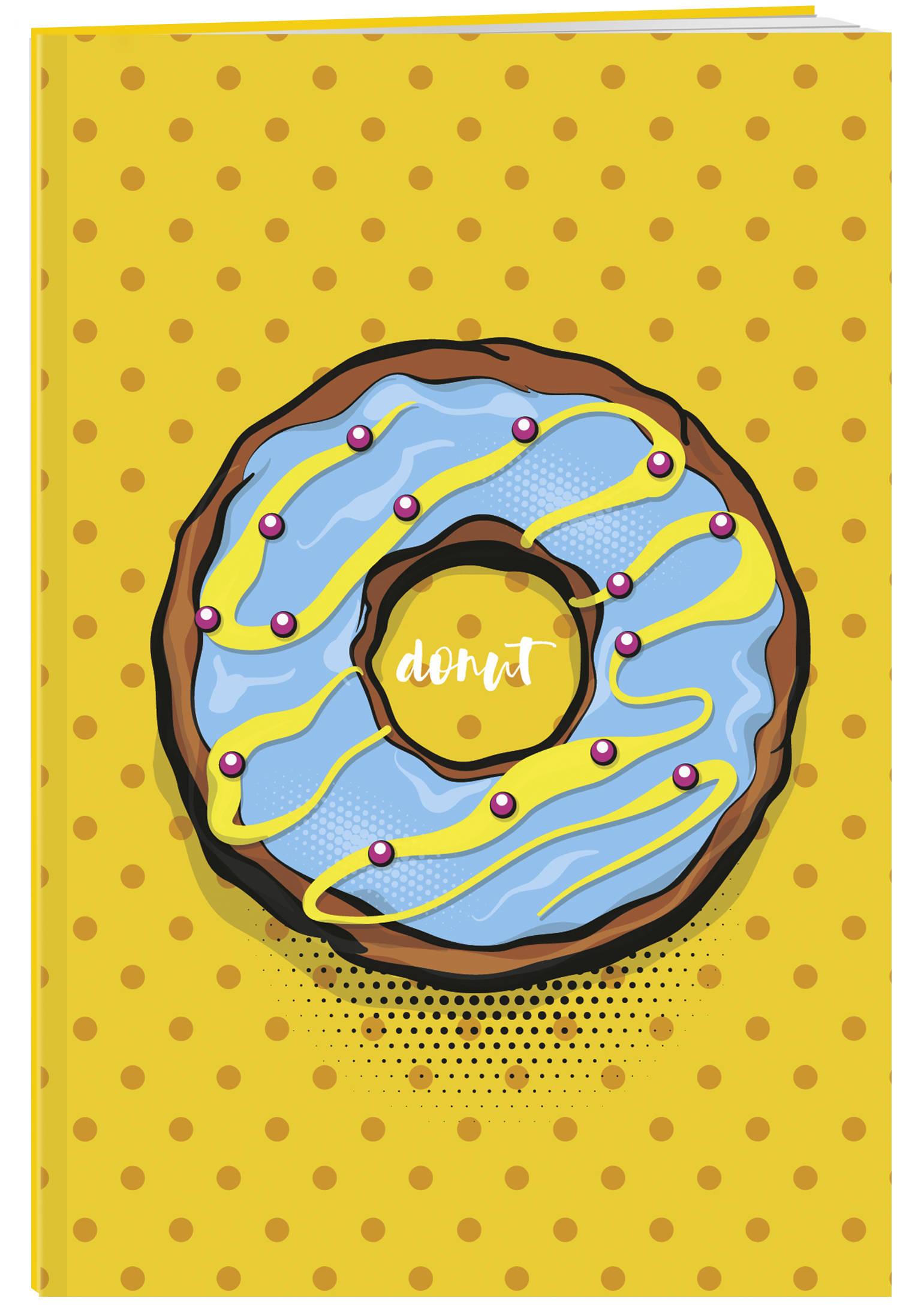 Пончик. Тетрадь (А5, 48 л., УФ-лак, накидки)