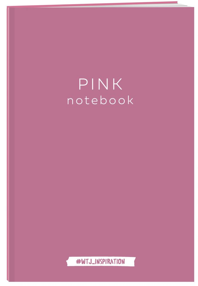 Pink notebook. Тетрадь (А4, 40 л.)