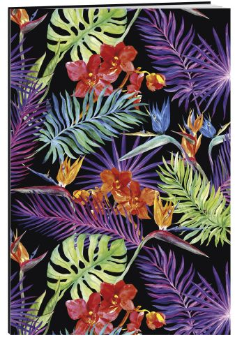 Яркие тропики. Тетрадь (B5, 40 л., УФ-лак)