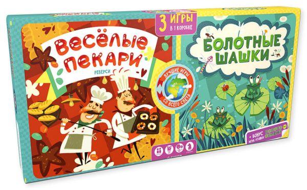 Карякина Ольга Весёлые пекари. Болотные шашки