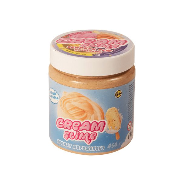 Cream-Slime с ароматом мороженого, 450 г