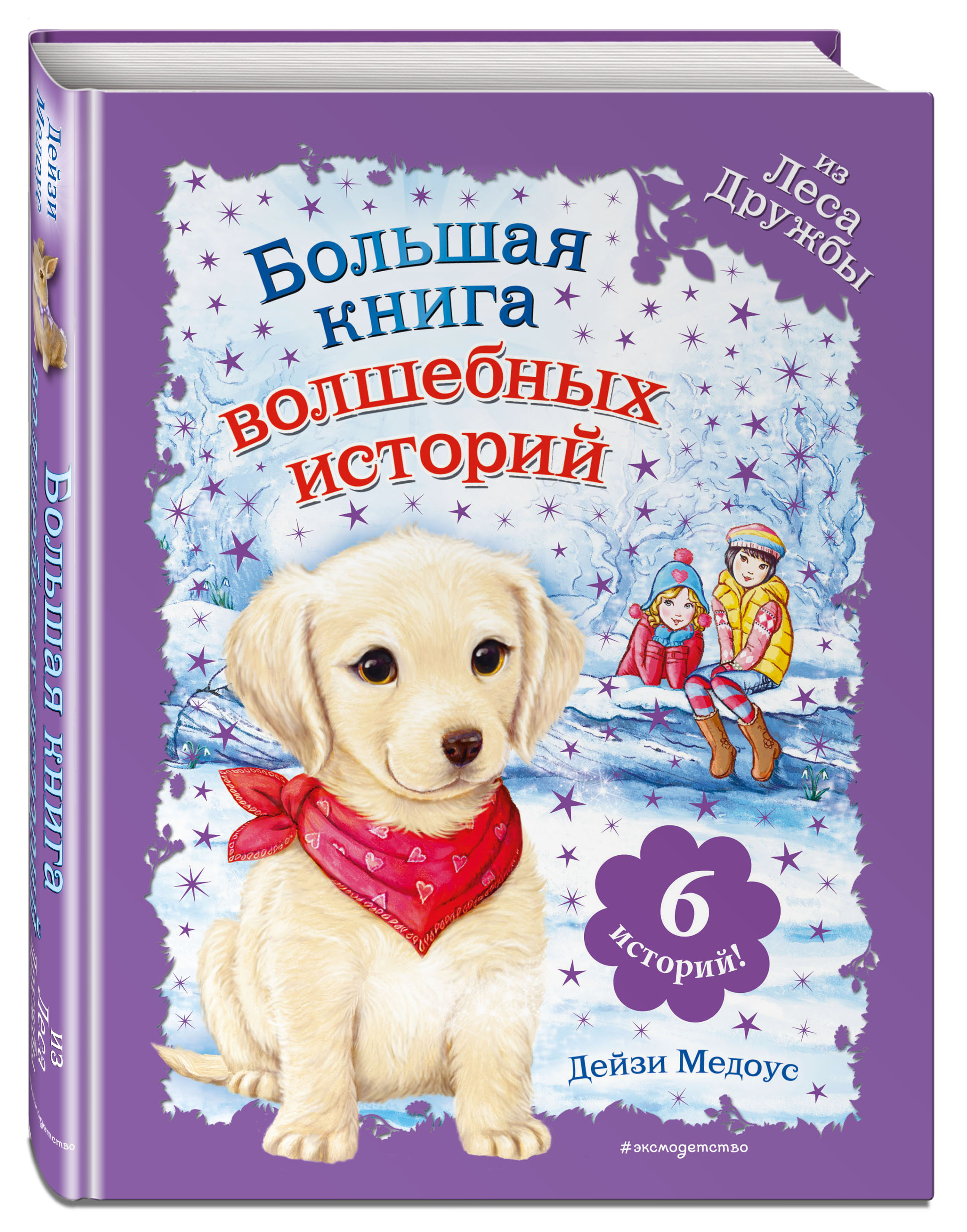 Медоус Д. Большая книга волшебных историй из Леса Дружбы юрье ж жуанниго л большая книга кроличьих историй