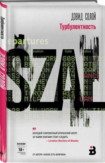 Дэвид Солой - Турбулентность обложка книги