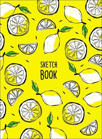 Скетчбук А5. Лимоны