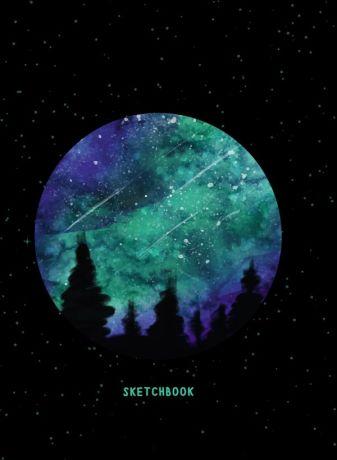 Скетчбук А5. Звездное Небо