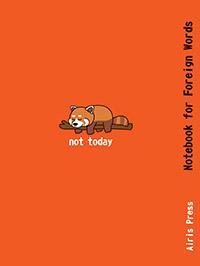 Тетрадь для записи иностранных слов. (Красная панда) - фото 1