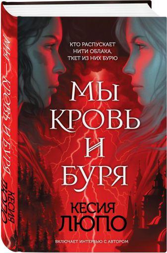 Кесия Люпо - Мы — кровь и буря обложка книги