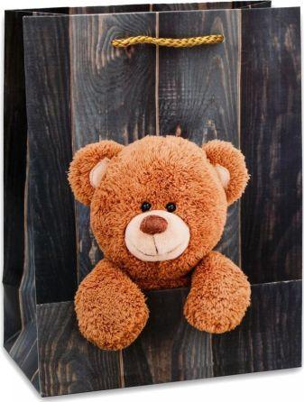 Dream cards Пакет подарочный с матовой ламинацией 18х23х10 см (M) Славный медвежонок, 210 г ПКП-8696