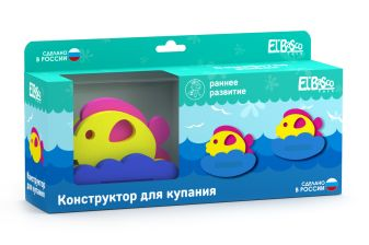 "Игрушка-конструктор для купания ""Семейство рыбок"""