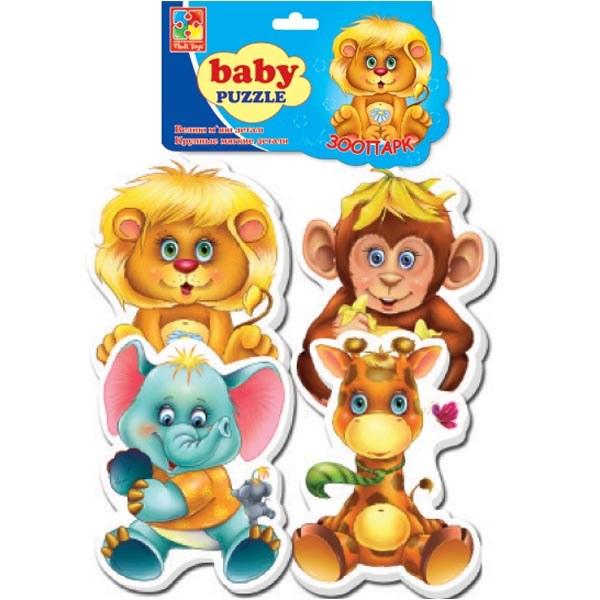 "Мягкие пазлы Baby puzzle ""Зоопарк"""
