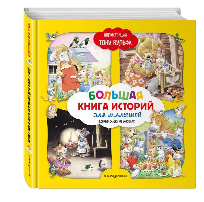 Лэй А. - Большая книга историй для малышей (илл. Тони Вульфа) обложка книги
