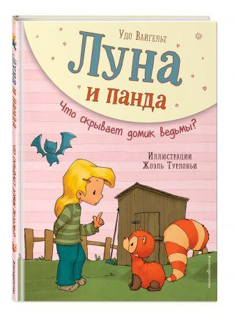 Удо Вайгельт - Луна и панда. Что скрывает домик ведьмы? (ил. Ж. Турлонья) обложка книги