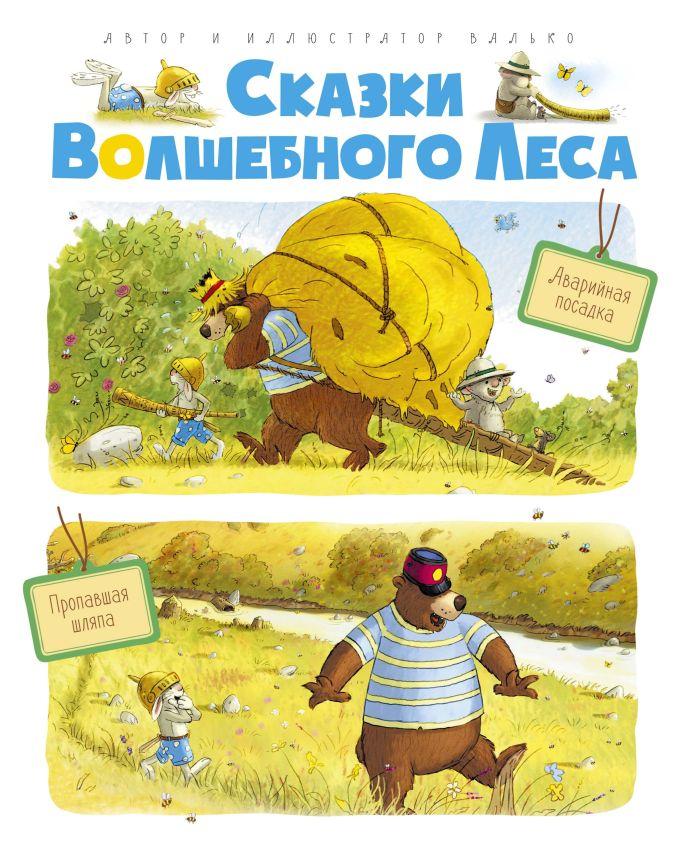 Валько - Сказки волшебного леса: Аварийная посадка, Пропавшая шляпа обложка книги