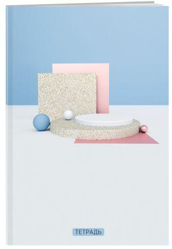 Кубы. Студенческая тетрадь на евроспирали (В5, 60л., конгрев, тисн. золото, выб.лак, 4 полосы полноцвет)