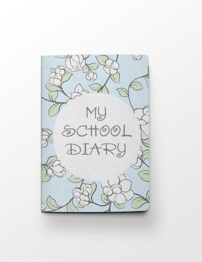 Дневник школьный «Цветы», А5, 48 листов - фото 1