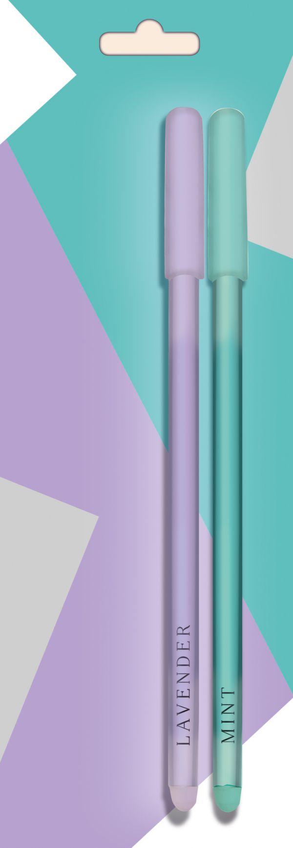 Color pens. Набор ручек (2 шт. в блистере)