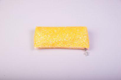 Пенал-косметичка, лимонный - фото 1