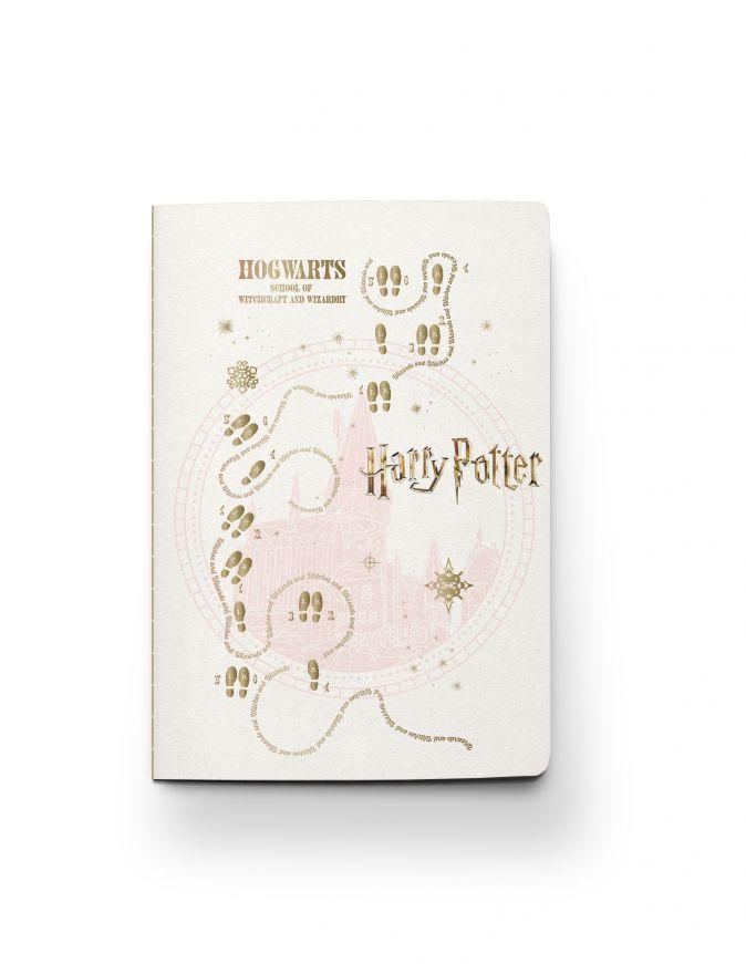 Harry Potter. Блокнот (B5, 32 л., прошитый цветными нитками, тиснение фольгой)