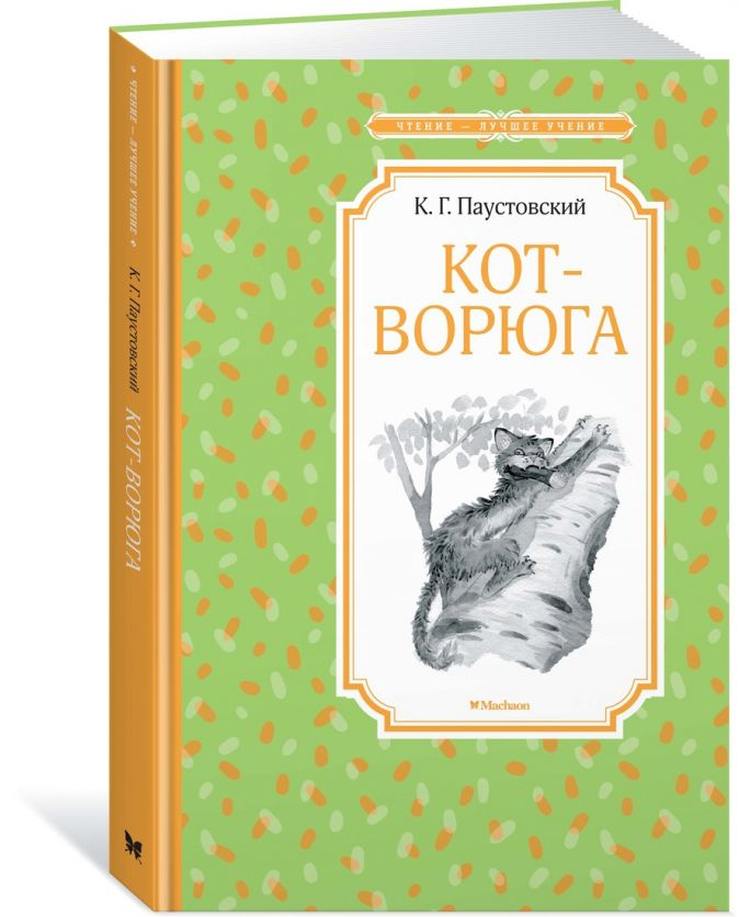 Паустовский К. - Кот-ворюга. Рассказы и сказки обложка книги