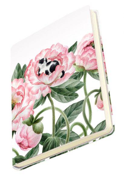 Тетрадь общая в мягкой пластиковой обложке «Котик в цветах»,  А5, 80 листов - фото 1