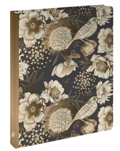 Тетрадь общая на кольцах «Райский сад с птицами», А5, 100 листов - фото 1