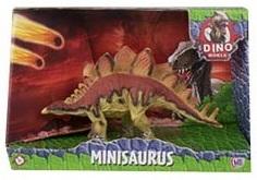 """Фигурка динозавра DINO WORLD """"Стегозавр"""" 16 см"""