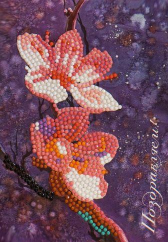 Алмазные открытки. Поздравляем! - алмазная открытка (AZ011)