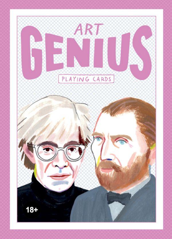 Игральные карты «Art Genius. Коллекционная колода с великими художниками»