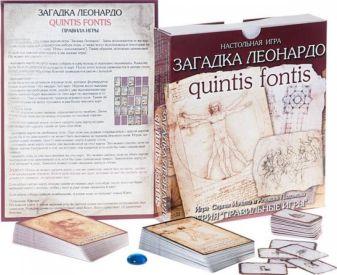Настольная игра «Загадка Леонардо»