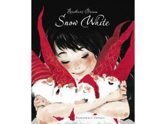 Гримм - ДХЛ. Snow White (Белоснежка на англ. языке) обложка книги