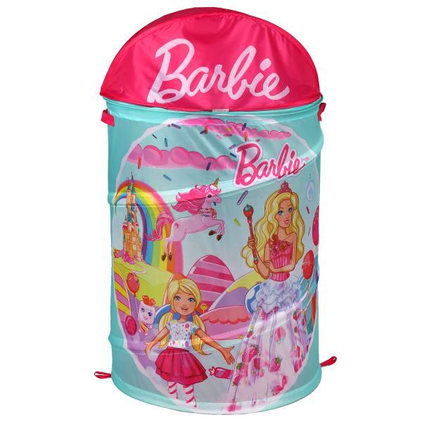 Корзина для игрушек Барби 43*60см в пак. Играем вместе в кор.24шт