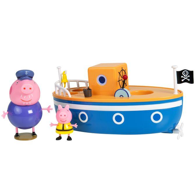 """Свинка Пеппа.Игр. наб. для ванны """"Корабль дедушки Пеппы"""".TM Peppa Pig"""