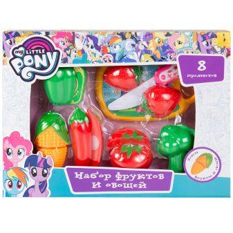 Мой маленький пони. Набор фруктов и овощей, 8 предм. TM My Little Pony