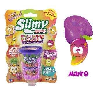 Слайми. Слайм с фруктовым запахом, манго, 80 г. ТМ Slimy