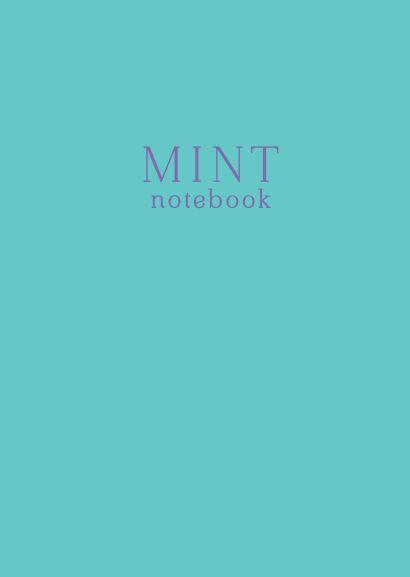 Тетрадь студенческая в клетку Mint notebook, А4, 40 листов - фото 1
